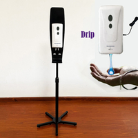 Portable Hand Sanitizer Stand/Cheapest Hand Sanitizer Stand/Sturdy, Moveable Sanitizing Station
